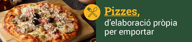 Menjar per emportat pizzes