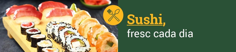 Menjar per emportat Sushi