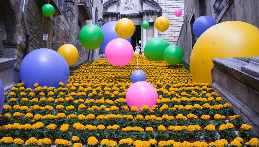 Girona, temps de flors i sabors