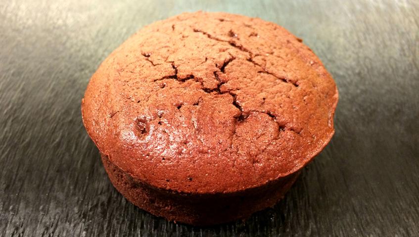 Pessic de xocolata negra sense farina