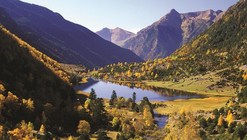 Viatjant pel sender dels Pirineus