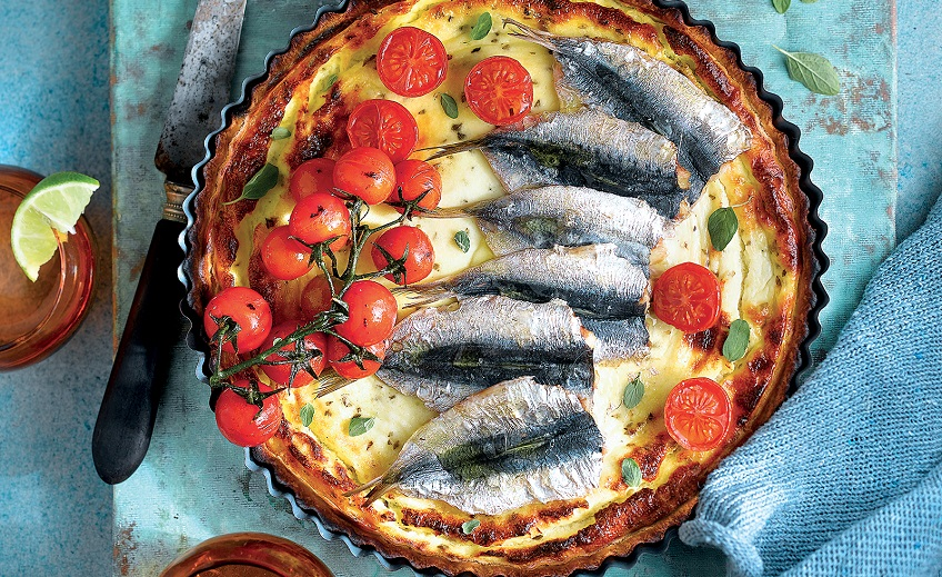 Recepta de quiche de sardines