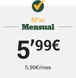 Bpas Mensual 5,99€