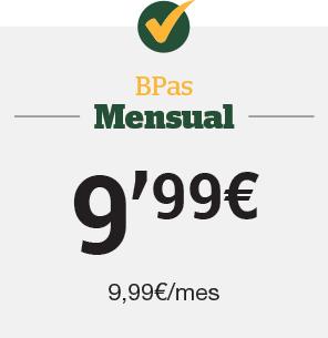 Bpas Mensual 9,99€