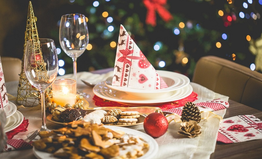 Idees per decorar la taula al Nadal