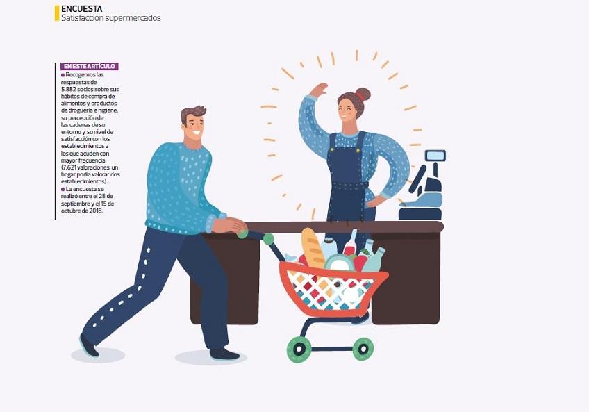 Bonpreu i Esclat, la millor cadena de supermercats de 2018