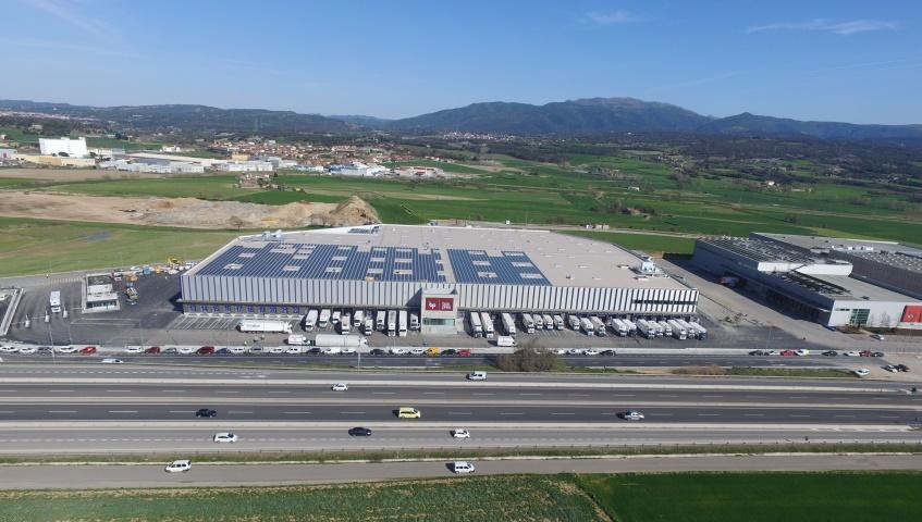Com s'ha construït el nou magatzem de productes refrigerats de Bonpreu i Esclat?