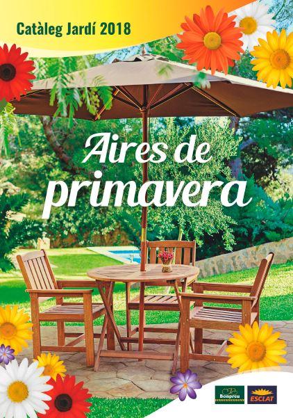 Aires de primavera - càmping i jardí - Bonpreu