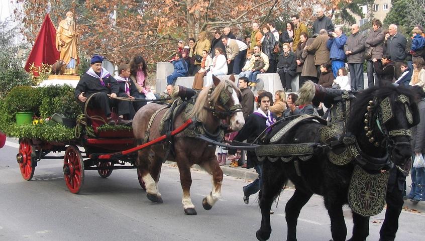 Festa de Sant Antoni: animals, foc i gastronomia