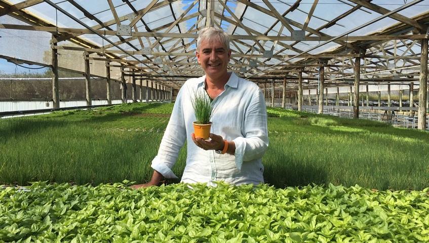 """""""La producció ecològica ens dóna una herba amb més gust, més aromàtica i amb les propietats de la planta intactes"""""""