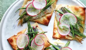 Recepta de coques de sardina