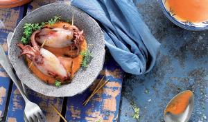 Recepta de calamars amb olivada