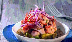 Ceviche de salmó