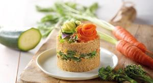 Recepta de timbal de quinoa amb espaguetis vegetals