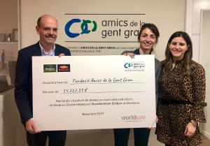 Els clients de Bonpreu i Esclat donen més de 54.000€ a la Fundació Amics de la Gent Gran