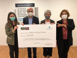 Els clients de Bonpreu i Esclat donen 58.491€ a la Alzheimer Catalunya Fundació