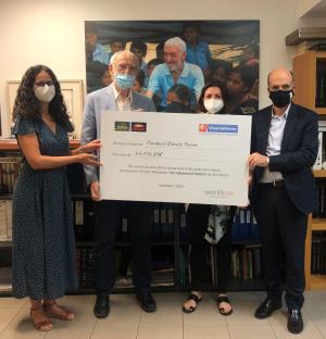 Els clients de Bonpreu i Esclat donen 64.716€ € a la Fundación Vicente Ferrer