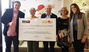 Els clients de Bonpreu i Esclat donen més de 55.000€ a l'associació AFANOC