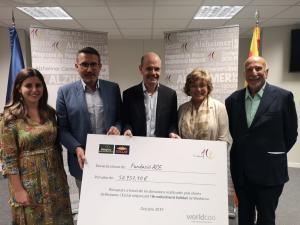 Els clients de Bonpreu i Esclat donen més de 52.000€ a la Fundació ACE