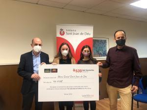 Els clients de Bonpreu i Esclat donen 46.442 € a l'Obra Social de Sant Joan de Déu