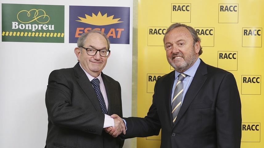 El RACC i el Grup Bon Preu s'alien per oferir avantatges als seus socis i clients