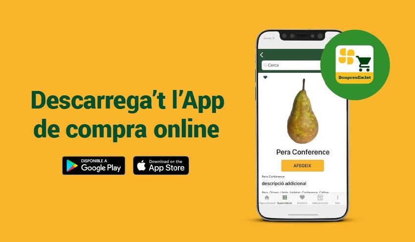 BonpreuEsclat estrena app per comprar des del mòbil