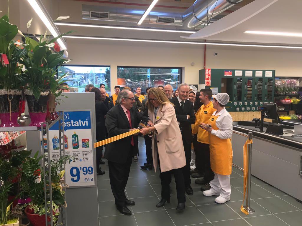 Nou supermercat Bonpreu a Vilanova del Vallès
