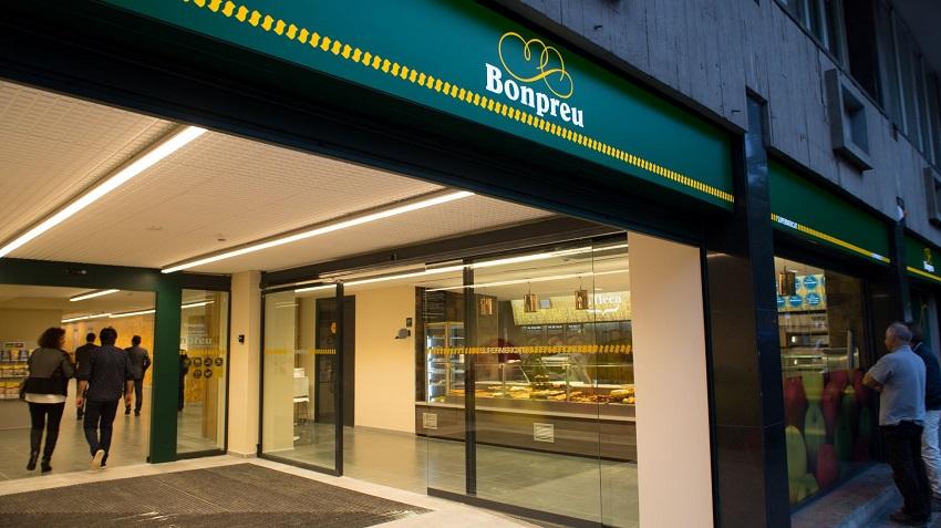 Nou supermercat Bonpreu a Barcelona