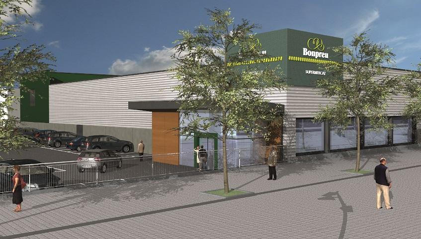 Nou supermercat Bonpreu a Gironella