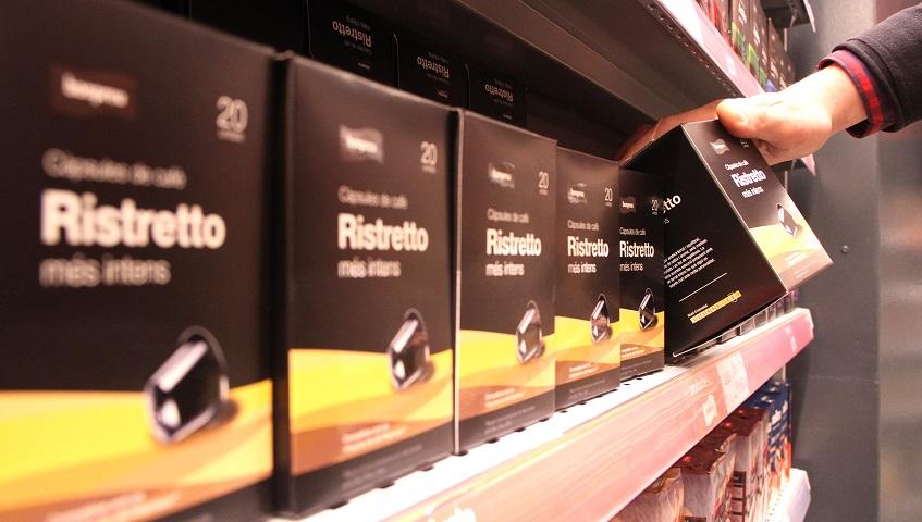 A Catalunya el consum de cafè en càpsules és un 73% superior que a la resta d'Espanya
