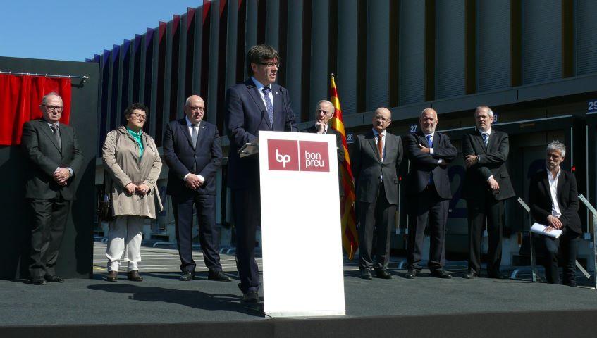 Bon Preu amplia la seva ciutat logística amb la inauguració del nou magatzem de productes refrigerats
