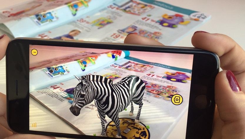 El Grup Bon Preu integra la realitat augmentada al seu catàleg de joguines