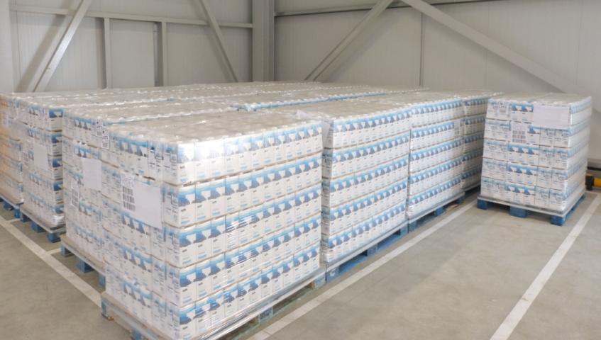 El Grup Bon Preu dóna més de 13.000 litres de llet al Banc dels Aliments