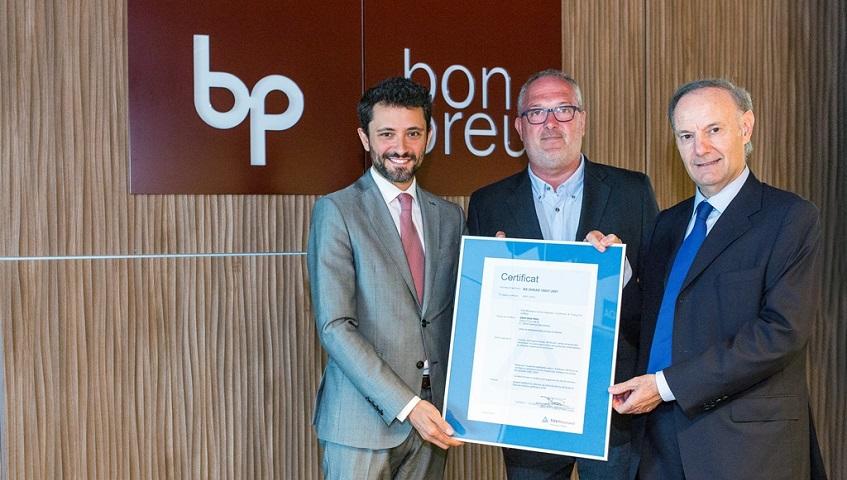 El Grup Bon Preu obté la certificació OHSAS 18001:2007