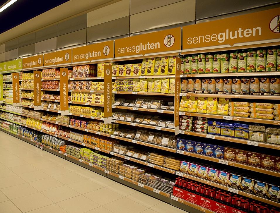 Bon Preu augmenta l'oferta de productes sense gluten a més de 700 referències